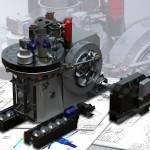 Belgorod Revolving brick press