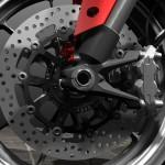 Ducati Detail of front wheel assembly