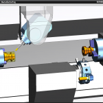 Mill_Turn_simulation_two_spindles
