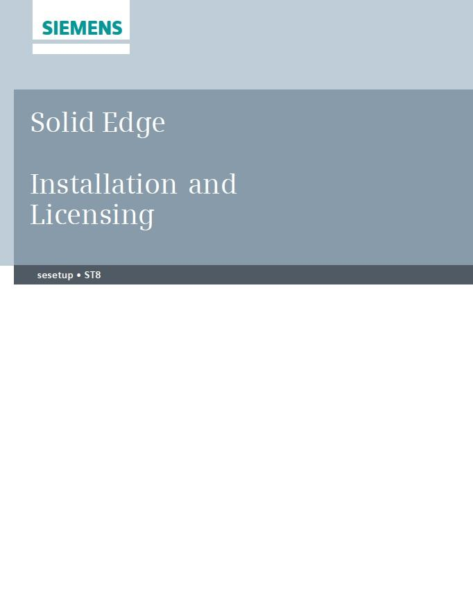 SE installation and licensing