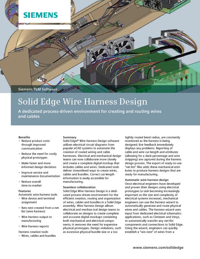 SE wire harness design